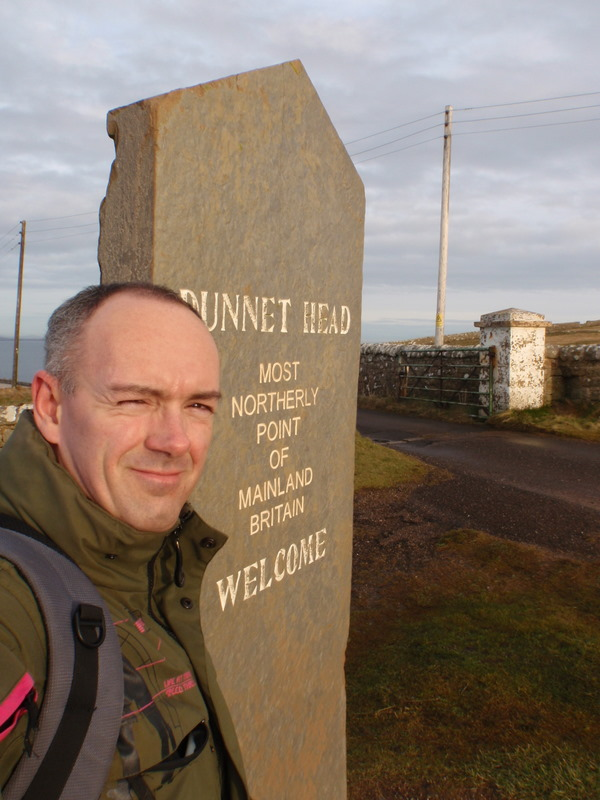 Me at Dunnet Head