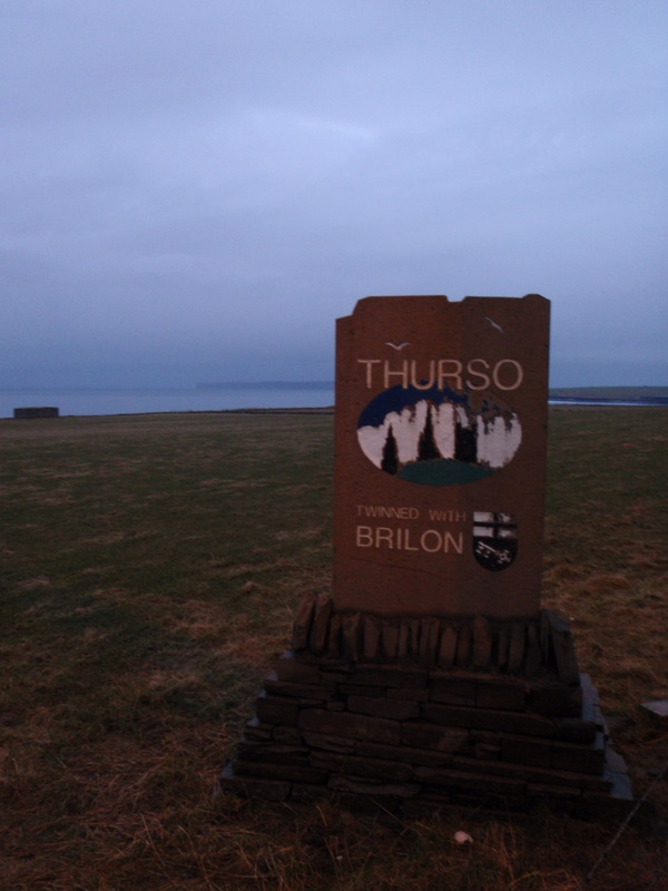 Welcome to Thurso