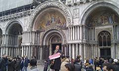 Crowds in Venice